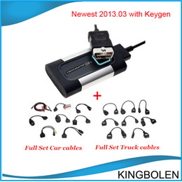 Wholesale Mazda Trucks - New Arrival 2017 Release 1 free keygen Newest TCS plus pro with full set car cables and truck cables DHL Free Shipping