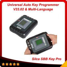 Wholesale Sbb Immobilizer - sbb key programmer V33 Silca SBB Key Programmer Factory price Silca sbb immobilizer 9 Language free shipping