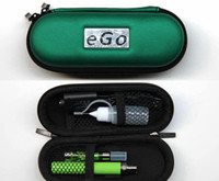 Wholesale Ego T Zipper Set - Wholesale - eGo CE4 E Cigarette Starter Kits eGo-T Battery 650mah 900mah 1100mah CE4 Atomizer Electronic Cigarette Zipper Case Various Color