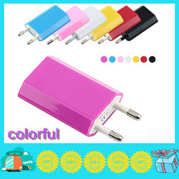 Wholesale Iphone5 For Cheap - 300pcs lot cheap price USB Charger Wall Outlet Travel Adapter for iphone 3G 3GS iphone 4 5 new iphone5 AC Power EU Plug 5V