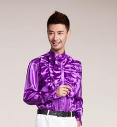 Argentina venta al por mayor de los hombres de moda de lujo elegante camisa de vestir de diseño informal Cultivar su camisa de manga larga moralidad CS20 Suministro