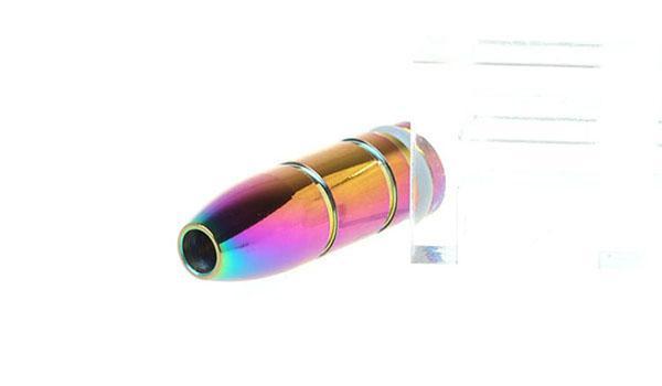 El arco iris más barato punta de goteo Estilos ricos Puntas de goteo de acero inoxidable Atomizador de metal Boquilla para ce4 ego t ego w ego vv evod twist E Cigarrillo