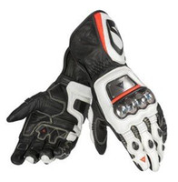 Wholesale Rs Racing - Hot seller GUA. FULL METAL RS Racing Gloves 100% high quality Leather motorcycle motorbike Riding gloves M L XL Free shipping