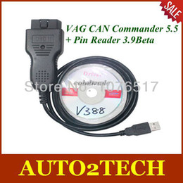 Wholesale Vag Commander Car - Free shipping!! 2014 VAG CAN Commander 5.5+ Pin Reader 3.9Beta Car Diagnostic Tools with High Quality