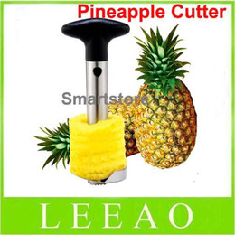 Wholesale Lowest Prices Kitchen Tools - Lowest Price 144pcs lot Fruit Pineapple Corer Slicer Peeler Cutter Parer Knife Stainless Kitchen Tool FEDEX Free Shippi144