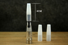 Wholesale Disposable Clearomizer - Disposable Silicone Mouthpiece Cover Drip Tip Test Tips with Individual Package For CE4 CE5 CE6 Clearomizer