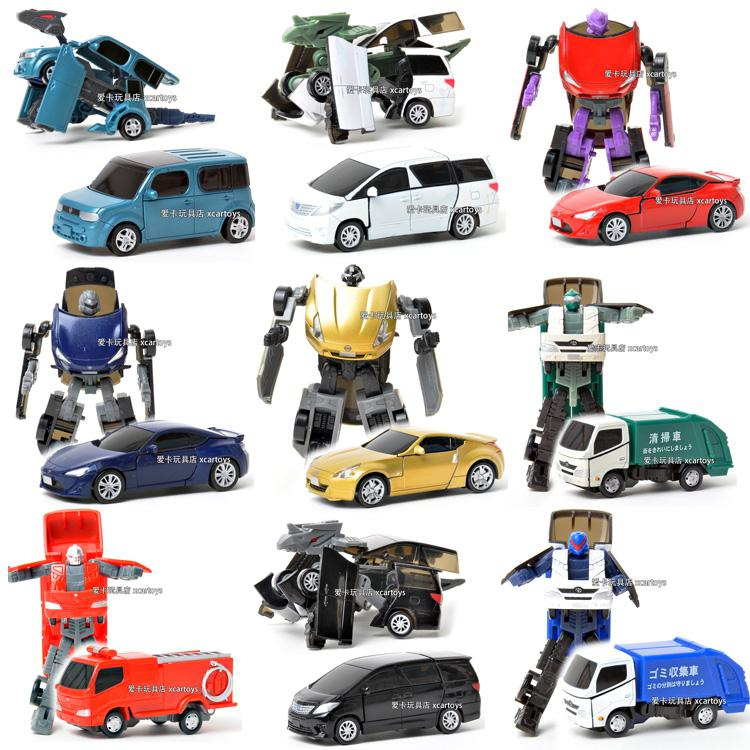 2018 Car Model Toy Cars Transformers Deformation