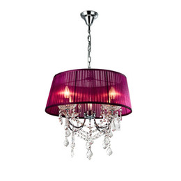 Chain Counter UK - Modern Crystal Fabric Dining Room Chain Ceiling Pendant Light Restaurant Luxury Chandelier Fixtures Bar Counter Pendant Lights