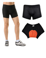 Wholesale Base Bicycle - Men women Cycling Underwear 3D Padded Bike Bicycle Shorts Pants Base Under Clothes Black hot sale