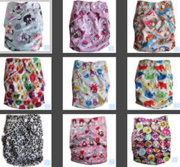 Wholesale Pocket Cloth Diapers Inserts - 2014 Hot Sales Colorful Baby Diapers Cheaper Baby Nappy Pockets Free Shipping Without Bamboo Charcoal Insert more color for Choosen TH-02