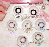 Wholesale Wholesale Black Baby Dolls - NEW!!!free shipping_k BABY COLOR&SUMMER DOLL contact lenses lens Color Contact 7 colors EYE BIG BEAUTY