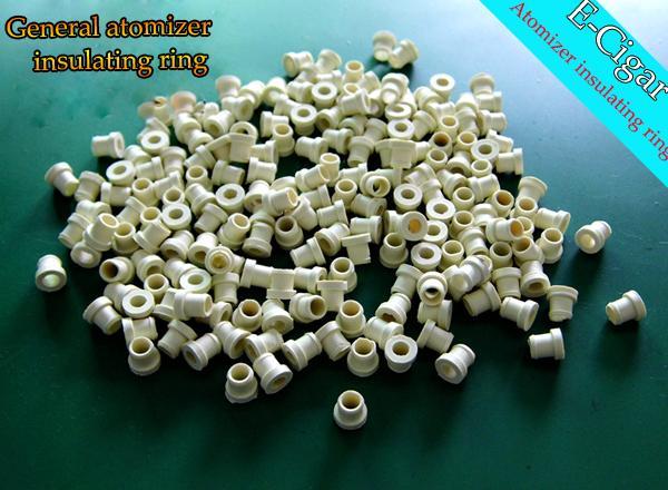 DIY Silicona Aislada Anillos Sustituible Bobina Cabeza O Anillo para MT3 H2 Atomizador Clearomizers Cigarrillo Electrónico