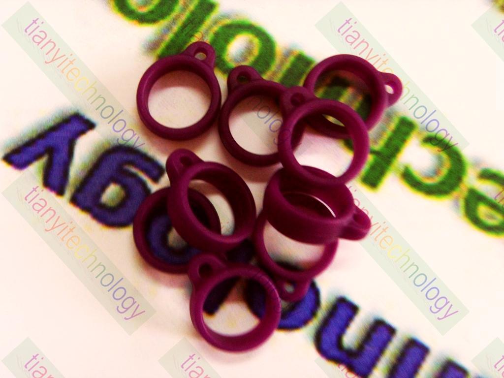 E-cigarette Pen Vaporizer String Ring eGo Silicone Necklace Ring For eGo Atomizers AGO G5 VGO E-Smart AGO-X Iclear30 VIVI NOVA 510 DCT Tank