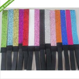 Wholesale Glitter Headband Softball - Sale ZEBRA color 120pcs 3 4'' Glitter headbands for girl softball headbands sparkle band