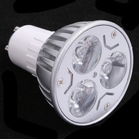 Wholesale cree mr16 3x3w - High power GU10 3x3W 9W LED Light Lamp Bulb Downlight 110-220V