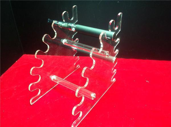 Akrilik e çiğ ekran vitrin durumda sigara buharlaştırıcı net standı gösterisi raf tutucu dönebilen raf kutusu e sigara damla İpucu ecig DHL