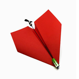 Wholesale Wholesale Model Airplanes - Retail Free shipping Child gift toy paper airplane drive module engine model airplane  airplane model