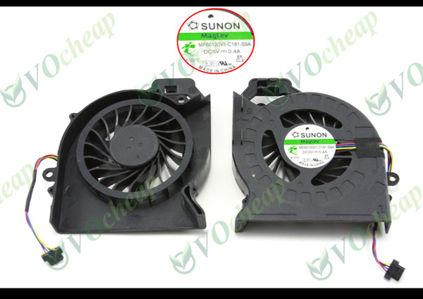 New original cpu cooling fan for HP DV6 DV6-6000 DV6-6050 DV6-6090 DV6-6100 DV7 DV7-6000 laptop Fan cooler - MF60120V1-C181-S9A