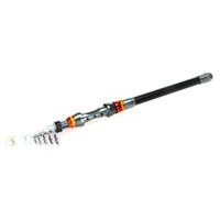Wholesale Telescoping Fishing Rod Pole - New Arrival 2.4M 7.87FT Portable Telescope Fishing Rod Travel Spinning Fish Pole Outdoor Sports Tool Fishing Gadget H9794
