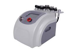 Chinese  6in1 portable vacuum ultrasonic liposuction cavitation RF bipolar radio frequency vacuum cellulite removal ultrasonic fat burning machine manufacturers