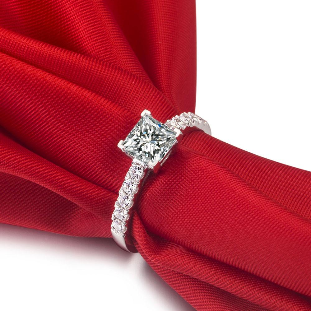 a cut engagement what carat diamond like ring blog princess ritani rings look does