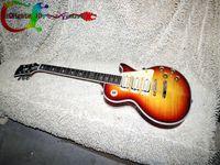 Wholesale Guitar Fret Bind Ebony - Custom Ace frehley signature Sunburst ebony fingerboard frets binding Electric Guitar guitars from china