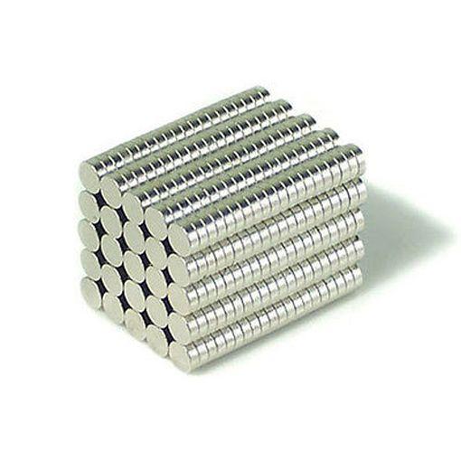 100pcs 3X1mm Neodymium Disc Super Strong Rare Earth N35 Small Fridge Magnets