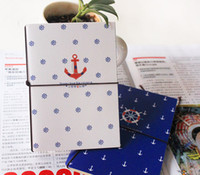 Wholesale Diary Agenda - Free Shipping New Sailing diary book Notepad Memo agenda note book Fashion Gift Wholesale