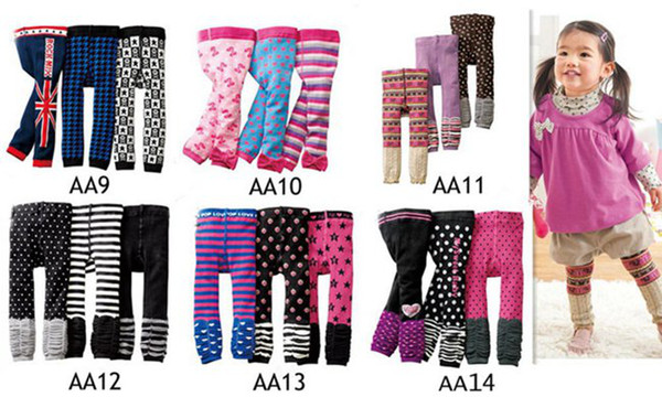 best selling Fedex DHL EMS Ship New Baby Nissen PP Pants Kids Leggings Pants Children Casual Pants 24pc lot Toddlers Tights Accept Size Choose 0-4T Melee