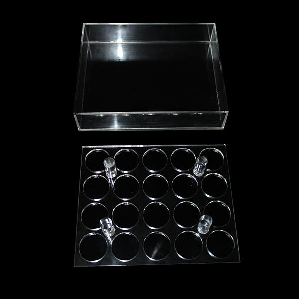 Acrylic e cig display showcase clear shelf holder rack for 10ml 20ml 30ml 50ml e liquid eliquid e juice bottle needle bottle DHL