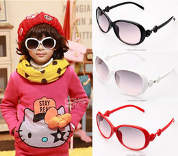 Wholesale Cool Baby Sunglasses - Kids Soft Feel Matte Frame Sunglasses colorful candy sunglasses children's sunglasses Baby cool round eyeglasses UV400