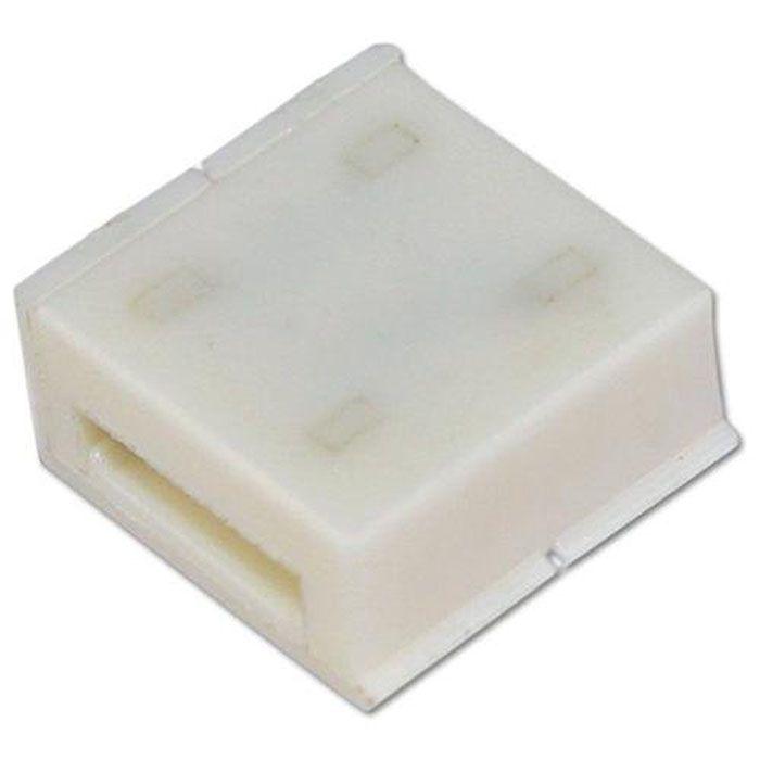100 stücke x 8 MM / 10 MM 2PIN Stecker Adapter PCB Für 3528 5050 LED Streifen Solderless Einfarbig