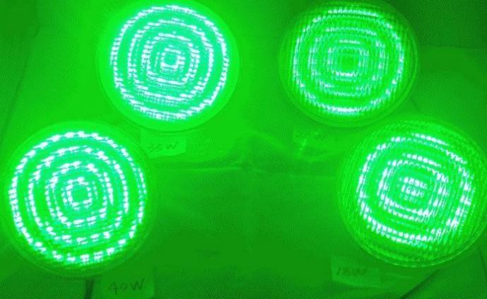 Wechselstrom 12 Volt Par56 24W LED Unterwasserlicht-Lampe imprägniern IP68 für Yard-Landschaftspool-Teich verzieren Beleuchtungs-Stelle RGB-Farbe CER