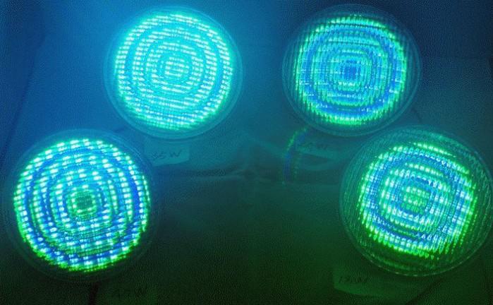 24W 12V Par56 RVB LED lumière de piscine extérieure étanche étanche sous-marine Lamparas avec télécommande couleur changeant ampoule d'éclairage