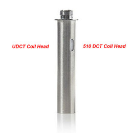 Wholesale Dct Cartomizer Core - Factory price DCT Coil Head UDCT Atomizer Core Replacement coil for Electronic Cigarette 3.0ml 6.0ml DCT Tank UDCT Clearomizer Cartomizer