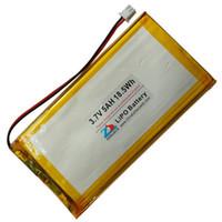 batterie lithium ion polymère 3.7v achat en gros de-Shun 5000mAh 3.7V lithium polymère polymère batteries 35601153660114 tablette GPS