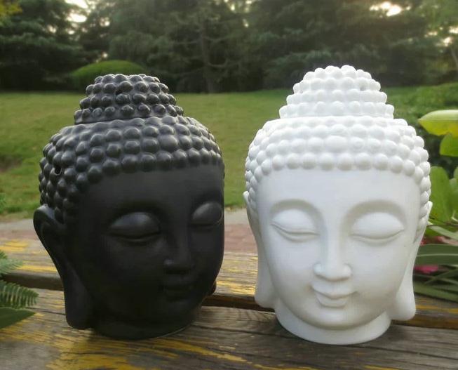 家の装飾の香りのランプ仏の頭のデザイン家の装飾香りの瓶を作る家のもっと美しいfiul