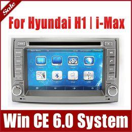 Wholesale Imax Cars - 2-Din Head Unit Car DVD Player for Hyundai H1 H-1 Grand Starex iMax i800 H300 with GPS Navigator Bluetooth USB AUX Radio Audio