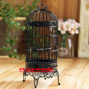 Multicolor High quality Birdcage Wedding Gift Creative Decorations Jewelry Display Stand Ornaments Wire Toys Z441