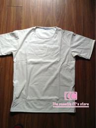 Wholesale Men Shirts Leather Sleeves - Hip hop Full Python PU Leather t shirts for men   Snakeskin fashion short-sleeve O-neck Crocodile Zipper sizds white men tee M-3XL