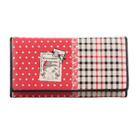 Wholesale Snoopy Wallets - Snoopy fashion long design wallet s8026-20 red