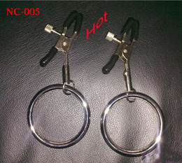 chain sm sex Australia - Nipple Breast clitoris Flirt clamps clip with chain  clamps   rings SM Bondage Sex Toys Women Female Sex Toys NC-005 6Styles