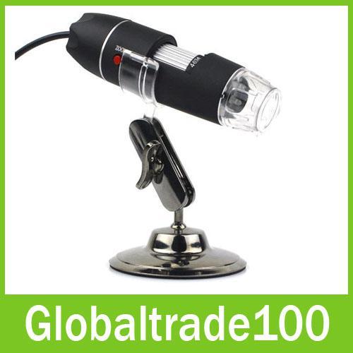 Nuovo arrivo USB Digital Microscopes Magnifier 2.0MP 800 volte 8 LED strumenti di manutenzione Spedizione gratuita