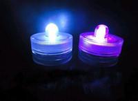 ingrosso le luci di tè di qualità hanno condotto-Top quality 100% impermeabile LED candela decorazione di nozze sommergibile Floralyte LED Tea Lights Decorazione del partito LED luce floreale 500pcs