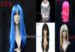Wholesale Mannequin Unisex - COSPLAY Dance performances wig window mannequins stage props long straight hair wigs, lace wigs, toys