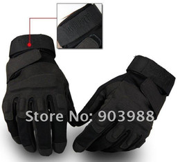 Wholesale Glove Blackhawk - Blackhawk Outdoor Tactical US Soldier Full Finger cycling gloves riding Glove black