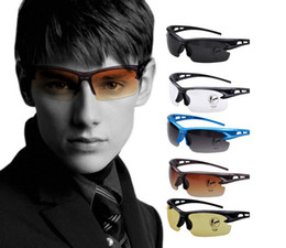 Wholesale Safety Glasses Goggles - Cycling Glasses Safety Explosion-proof Glasses Sunglasses Outdoor Protective goggles Men's Sports Sunglasses individuality sunglasses