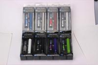 Wholesale Ego Cigs Sets - eGo-c Twist blister ego starter kit e cigs 1100mah 900mah 650mah adjustable battery 3.2V to 4.8V with CE4 Atomizer ego c twist blister