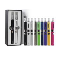 Wholesale Mt3 Double Starter - Double eVod BCC MT3 gift box kits Electronic Cigarette starter kit with MT3 atomizer 900mah Rechargable eVod Battery 900mah DHL free