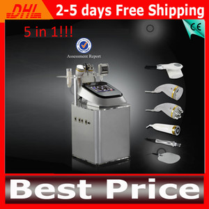 Wholesale 2014 Cavitation Ultrasound Therapy Machine Cavitation Vacuum RF Fast Cavitation Slimming System For Fat Burning Skin Lifting Wrinkle Removal
